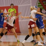 Handball is a pretty close contact sport